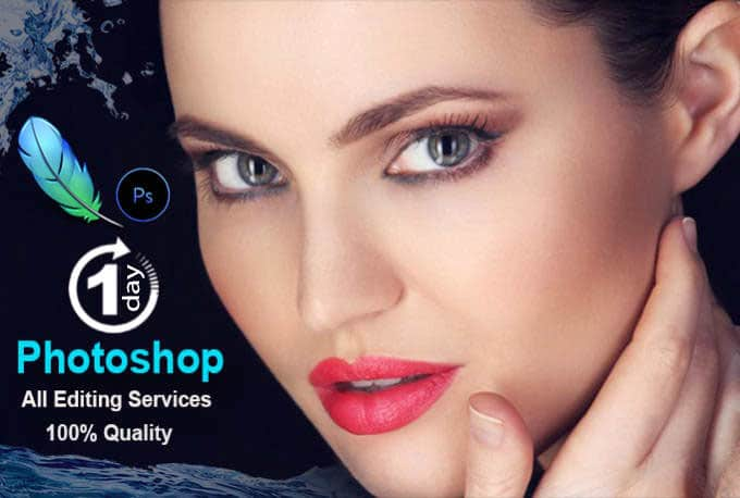 You will get High end photo retouching