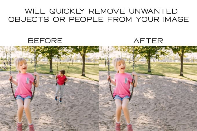 You will get remove unwanted objects and people from image