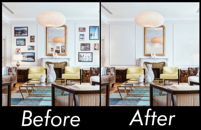 You will get 2 real estate photo editing